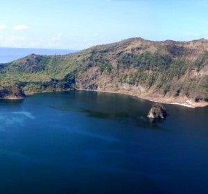 Cráter de la isla filipina Bulkang Taal