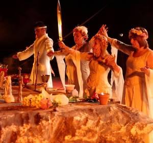 Fiesta celta de San Juan en Pinto (Madrid)