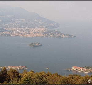 Islas Borromeas, en Italia