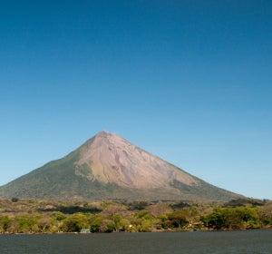 Volcán de la isla Ometepe (Nicaragua)