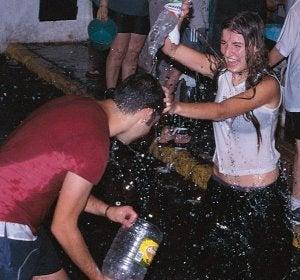 Fiesta del Agua en Lanjarón (Granada)