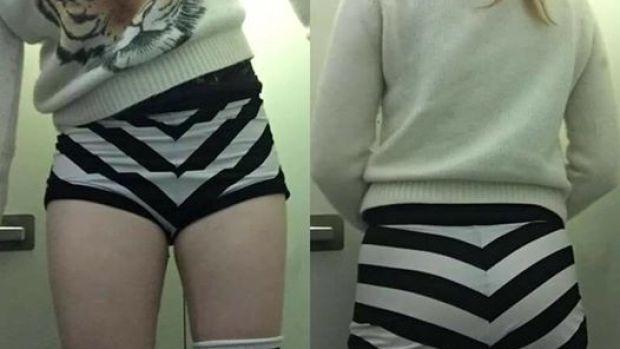 Pantalones que llevaba puestos