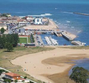 Playa de la Riberuca, Suances