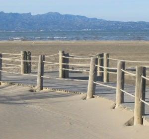 Playa de Riumar o Bassa d'Arena (Delta del Ebro) (Tarragona)