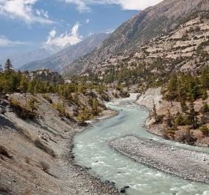 El valle del río Marshyangdi