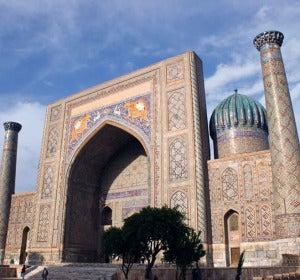 Las madrasas y templos de Uzbekistán son espectaculares
