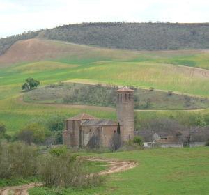 Vista de la Iglesia de Fresno de Torote