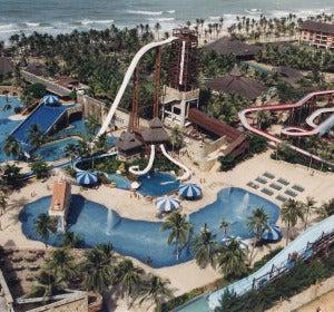 Vista general del Beach Park de Fortaleza (Brasil)