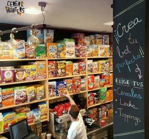 Interior del Cereal Hunters de Madrid
