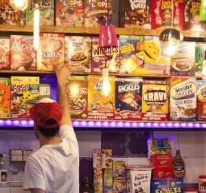 Interior del Cereal Lovers de Madrid