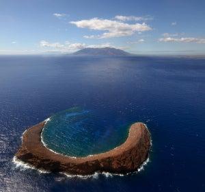 La isla Molokini