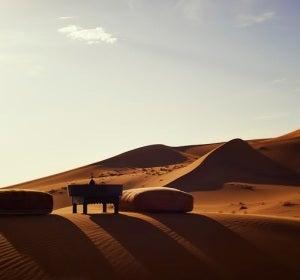 Impresionantes dunas del desierto de Merzouga