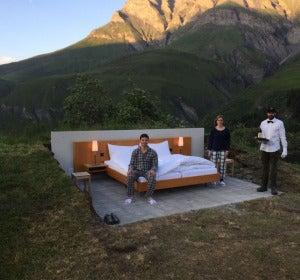 Null Stern Hotel en Safien (Suiza)