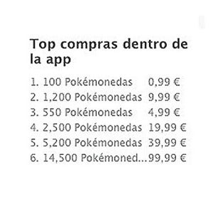 Top compras Pokémon