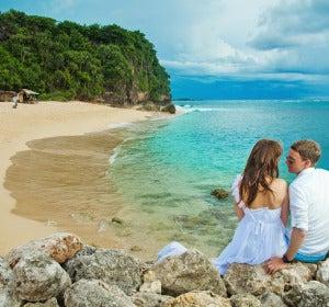 Recién casados en Bali