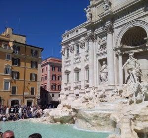 Fontana di Trevi, recién restaurada