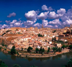 Vista de Toledo desde el Mirador del Valle