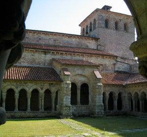 Iglesia de Santillana del Mar (Cantabria)