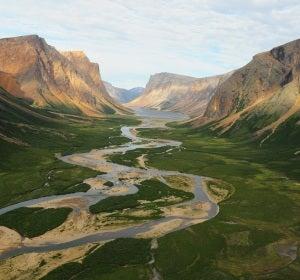 Glaciar de la península del Labrador (Canadá)