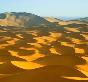 Dunas del desierto del Sáhara