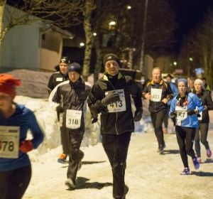 Media Maratón Polar Night en Noruega