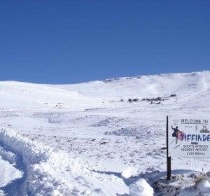 Tiffindell, el resort de nieve de Sudáfrica
