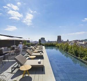 Las mejores piscinas de hotel en España