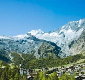 glaciar de Saas Fee (Suiza)