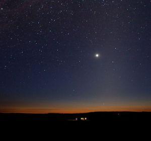 Estrellas sobre Sutherland (Sudáfrica)