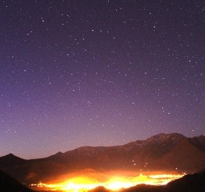 Cielo de Vicuña (Chile)