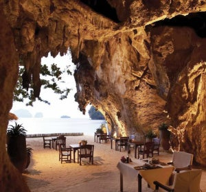 The Grotto, restaurante en Krabi (Tailandia)