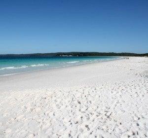 Hyams Beach, la más blanca del planeta