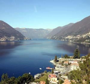 Lago di Como, al norte de Italia