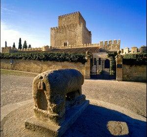 Entrada al Parador de Ciudad Rodrigo (Salamanca)