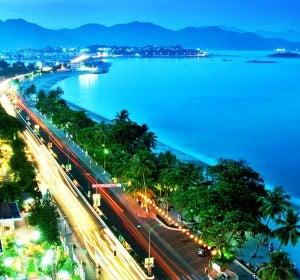 Paseo marítimo de Nha Trang