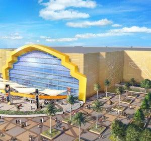 Warner Bros Park. Abu Dhabi