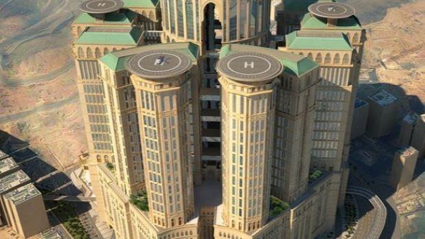 Vista completa del hotel Abraj Kuadai