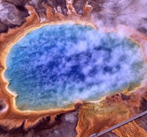 La tercera fuente termal más grande del mundo
