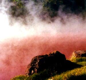 Pozos volcánicos con agua a 50 y 99 grados
