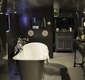 Baño suite de lujo
