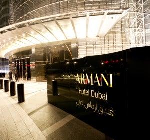 Armani Hotel. Dubai