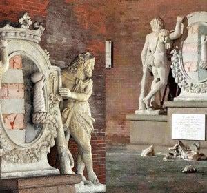 El antes y el después del monumento de Cremona