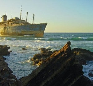 Trasatlántico fantasma de Fuerteventura