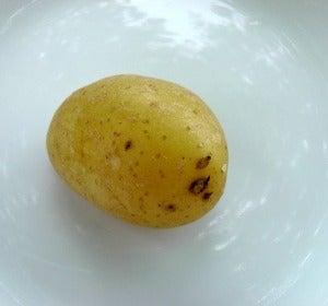 Una pobre patata cocida que no engorda