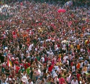 Chupinazo de las Fiestas de San Mateo de Logroño