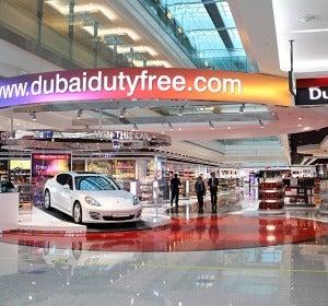 Duty Free del aeropuerto de Dubái