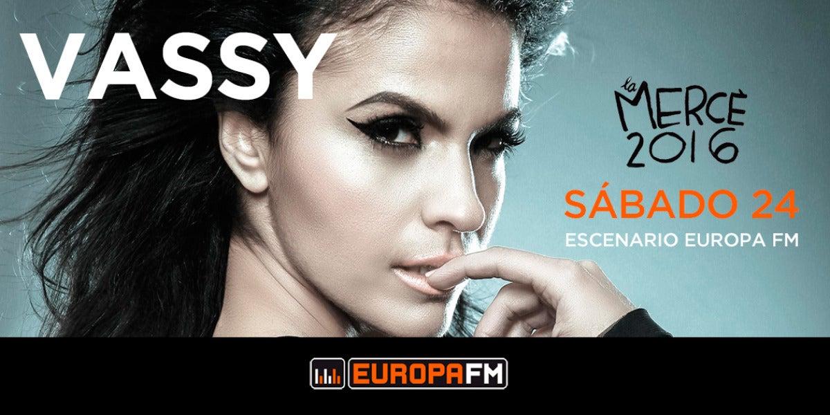 VASSY en las fiestas de La Mercè con Europa FM