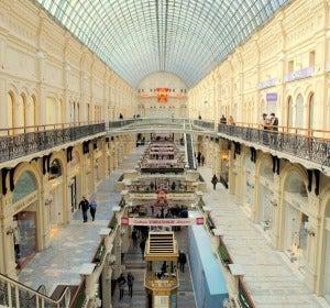 Interior de los almacenes GUM de Moscú