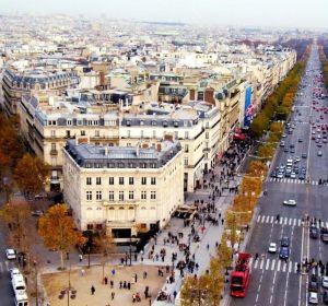 Boulevard de Saint-Germain y Campos Elíseos de París