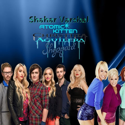 Mashup: Atomic Kitten VS Sheppard VS Christina Aguilera